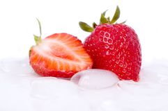 Frische Erdbeere lizenzfreies stockfoto