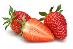 Frische Erdbeere stockbilder