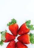 Frische Erdbeere Stockfotos