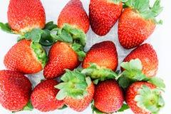 Frische Erdbeere Lizenzfreie Stockfotos