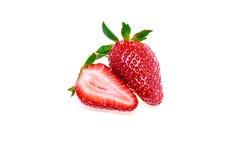 Frische Erdbeere getrennt Lizenzfreie Stockfotografie