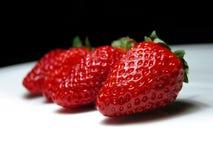 Frische Erdbeeren Stockbilder