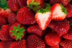 Frische Erdbeeren Lizenzfreies Stockfoto