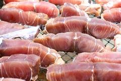 Frische Fisch-Fleisch Stockbild