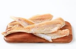 Frische Fischfilets Stockbild