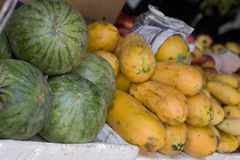 Frische Früchte Stockfotos