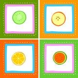 Frische Früchte lizenzfreie abbildung