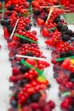 Frische Früchte und Beere Stockbild