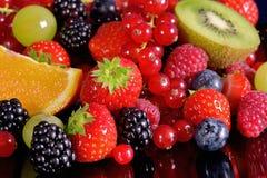 Frische Früchte und Beeren lizenzfreies stockfoto