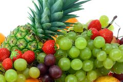 Frische Frucht. Stockbild
