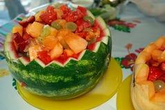 Frische Frucht-Schüsseln Stockfotografie