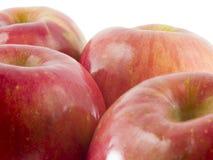 Frische Fuji-Äpfel Lizenzfreie Stockfotos