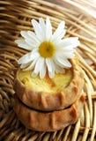 Frische gebackene traditionelle Torte mit Kartoffeln lizenzfreies stockfoto