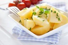 Frische gekochte Kartoffeln Lizenzfreie Stockbilder