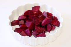 Frische gekochte rote Rüben Lizenzfreies Stockbild