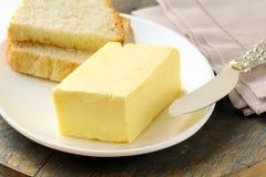 Frische gelbe Butter stockfotografie