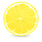 Frische gelbe Zitrone Lizenzfreies Stockbild