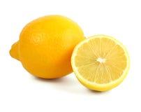 Frische gelbe Zitrone lizenzfreie stockfotos