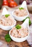 Frische gemachte Tuna Salad Stockbild