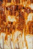 Frische geräucherte Aale essfertig Stockfotografie
