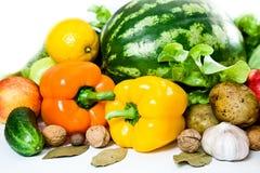 Frische gesunde Nahrung stockbild