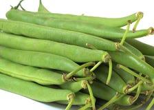 Frische grüne Bohnen lizenzfreie stockfotografie
