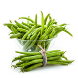 Frische grüne Bohnen Lizenzfreie Stockfotos