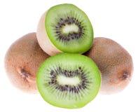 Frische grüne Kiwifrüchte Lizenzfreies Stockfoto