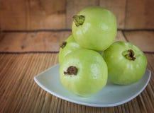 Frische Guaven Lizenzfreies Stockfoto