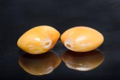 Frische Hülsenfruchtlupinen Stockfoto