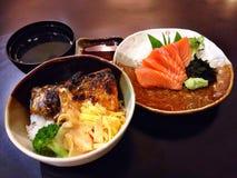 Frische japanische Fische vom sea Lizenzfreie Stockfotografie