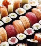 frische japanische Sushi Lizenzfreie Stockbilder
