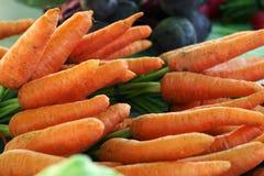 Frische Karotten Stockfotos