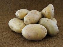 Frische Kartoffeln von der letzten Ernte stockfotografie