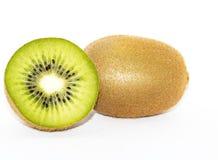 Frische Kiwi lokalisiert im weißen Hintergrund lizenzfreies stockbild