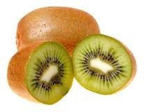 Frische Kiwifrucht (getrennt) Stockbilder