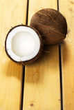 Frische Kokosnüsse Stockbild
