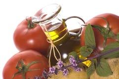Frische Kräuter und Gemüse Lizenzfreie Stockfotos