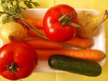 Frische Lebensmittelgeschäfte bereit zur Küche lizenzfreie stockfotografie