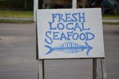 Frische lokale Meeresfrüchte Stockbilder