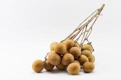 Frische Longan-Frucht Stockfotografie