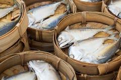 Frische Makrele auf einem Markt Lizenzfreie Stockfotografie