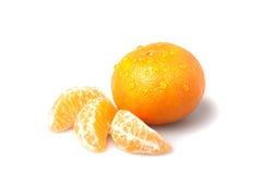 Frische Mandarine Stockbild