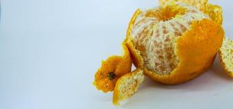 Frische Mandarine Stockfoto