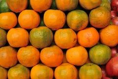 Frische Mandarinen Lizenzfreies Stockfoto