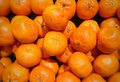 Frische Mandarinen Stockfotos