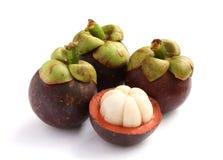 Frische Mangostanfrucht Lizenzfreie Stockfotografie