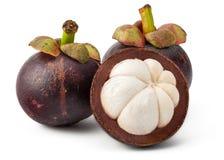 Frische Mangostanfrucht Stockbild