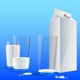 Frische Milch Stockbild