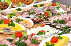 Frische Nahrung stockbild
